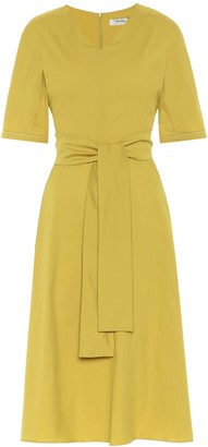 S Max Mara Lea cotton poplin midi dress