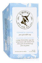 Smallflower Goat Milk Soap - Topanga Canyon by Chivas Skin Care (4.5oz Bars Of Soap)