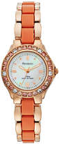 Armitron Women's Crystal Stainless Steel Watch