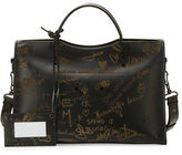 Balenciaga Blackout City AJ Love Shoulder Bag