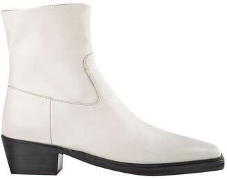 Tony Bianco Mercury Dove Capretto Ankle Boots