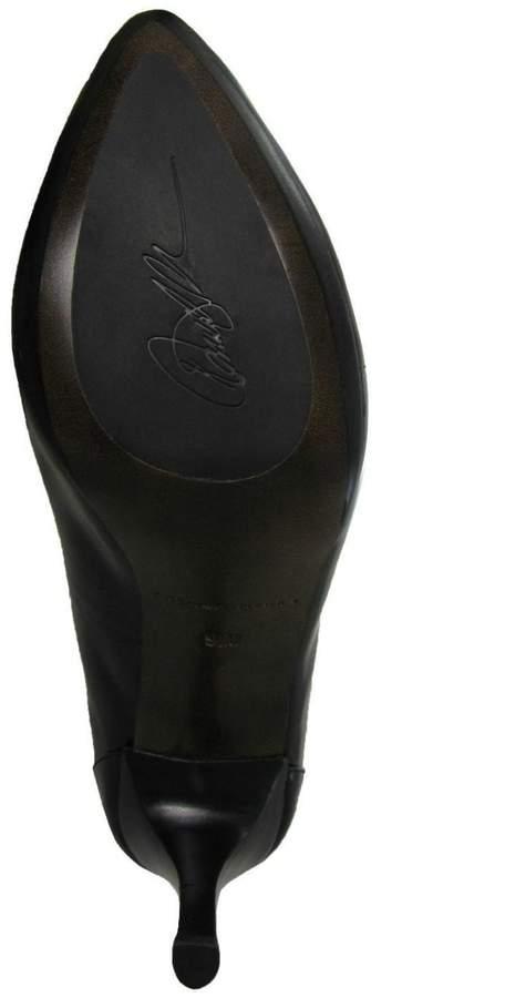 Donald J Pliner Black Leather Pump