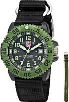 Luminox Men's 3041 Quartz Black Dial Carbon Reinforced Polycarbonate Watch