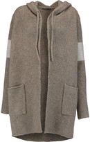 James Perse Wool-blend hooded cardigan