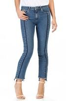 Paige Women's Vintage Julia High Rise Straight Leg Jeans