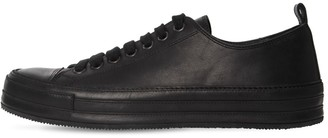 Ann Demeulemeester Leather Low Sneakers