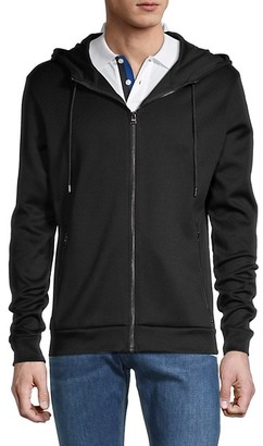 HUGO BOSS Cotton Hooded Jacket