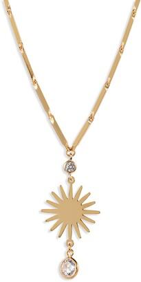 Ettika Starburst Pendant Necklace