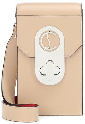 Christian Louboutin Elisa Phone Pouch leather crossbody bag