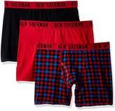 Ben Sherman Men's 3 Pack Boxer Brief-Bsm1102us