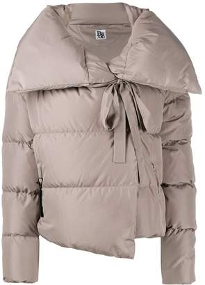 Bacon oversized collar padded jacket