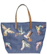 RED Valentino Large Bird Print Tote