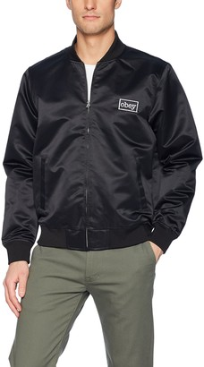Obey Men's Band Bomber Jacket