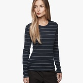 James Perse Long Sleeve Stripe Tee