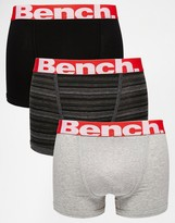 Bench 3 Pack Boxers - Blue