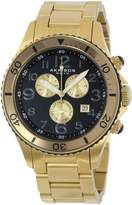 Akribos XXIV Men's AK616YG Ultimate Swiss Chronograph and Gold-Tone Stainless Steel Bracelet Watch