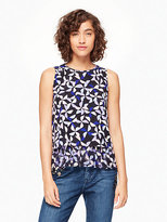 Kate Spade Spinner double layer tank