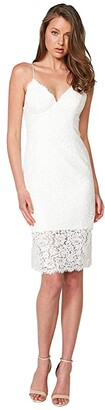 Bardot Sienna Lace Dress (Ivory) Women's Dress
