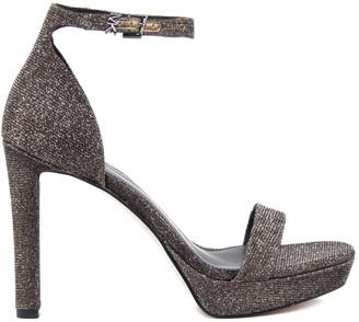 MICHAEL Michael Kors Margot Sandals In Glitter Leather
