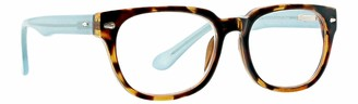 Life is Good Unisex-Adult Twist Rectangular Reading Glasses