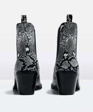 Alice In The Eve The Alexa Ankle Boot Snake