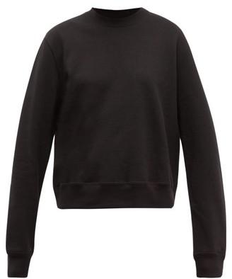 Wardrobe NYC Release 02 Round-neck Cotton-jersey Sweatshirt - Black