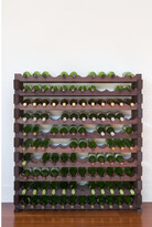 10 Layers of 12 Bottles Wine Rack Finish: Stained