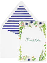 Lana's Shop Set of 8 Floral Thank You Cards