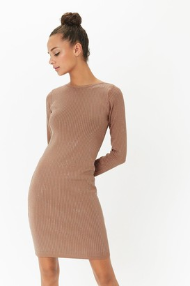 Coast Long Sleeve Diamante Bodycon Dress