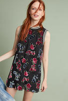 Anna Sui Rose Velvet Burn Out Dress