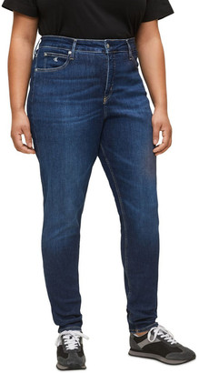 Calvin Klein Jeans Inclusive High Rise Skinny Jean Mid