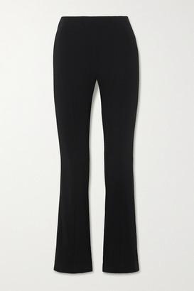 Co Crepe Flared Pants - Black