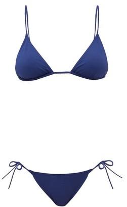 Eres Mouna Malou Triangle Bikini - Womens - Blue