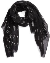 Rag & Bone Women's Embroidered Dagger Scarf