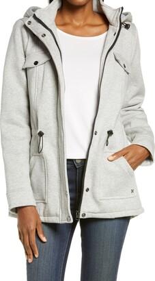 Hurley Chester Cotton Blend Fleece Jacket