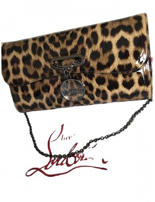 Christian Louboutin Riviera Multicolour Patent leather Clutch bags