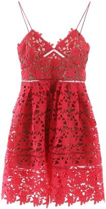 Self-Portrait Mini Azelea Lace Dress