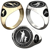 Disney Tinker Bell and Princess RunDisney Ring for Women by Jostens - Personalizable