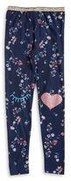 Jessica Simpson Girl's Floral Print Leggings
