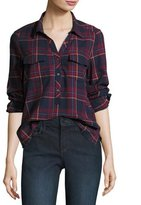 Soft Joie Antolina Plaid Button Front Shirt