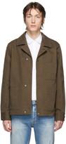 Acne Studios Khaki Twill Three-Pocket Chore Jacket