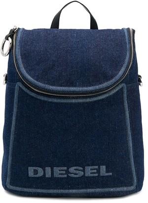Diesel Convertible Denim Backpack