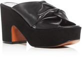 Robert Clergerie Esther High Heel Platform Slide Sandals
