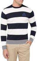 Tommy Hilfiger Block Stripe Crew Neck Knit