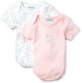 Absorba Newborn/Infant Girls) Two-Pack Bodysuits