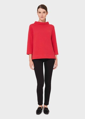 Hobbs Betsy Textured Top With Cotton