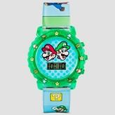 Nintendo Ninetendo® Boys' Wristwatch - Green One Size Fits Most