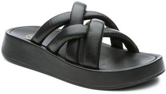 Ash Vanessa Puffy Napa Platform Sandals
