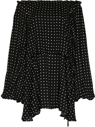 Rotate by Birger Christensen Carly off-shoulder mini dress