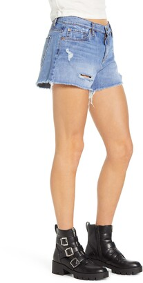 STS Blue Ripped High Waist Denim Shorts